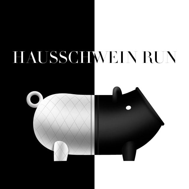 Hausschwein Run